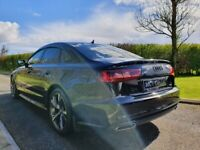 Aug 2016 Audi A6 2.0 TDI Quattro S Line S Tronic FACTORY BLACK STYLING, LIGHTING PACK, RS6 ALLOYS