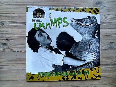The Cramps - Keystone Club Palo Alto - Numbered Green Vinyl LP RSD 2016 SEALED