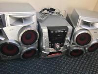 AIWA Jax-T7 3 CD Stereo System
