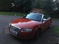 AUDI A4 1.8T CONVERTIBLE 11 MONTH MOT BARGAIN MAY SWAP PX A3 GOLF BMW