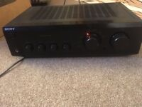 Sony Integrated Stereo Amplifier ( TA-FE330R )