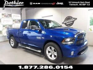 2016 Ram 1500 Sport | EXTENDED WARRANTY | LEATHER | NAV |