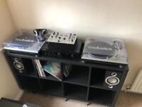 Technics SL1200 full DJ setup