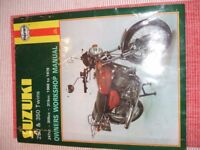 Haynes Manual - Suzuki 250 & 350 two stroke twins
