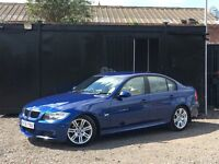 ★ 2006 BMW 320D M SPORT + FULL LEATHER + 9 BMW STAMPS ★