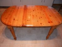 John Lewis Extendable Pine Dining Table