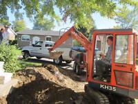 Haie / Hedges West Island Mini Excavation Denis
