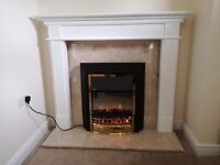 Fireplace complete set