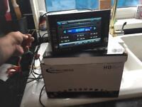 Incar dvd mp3 usb radio cd