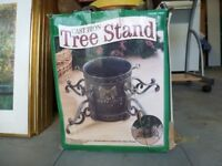 CAST IRON ORNATE CHRISTMAS TREE STAND ONLY £10
