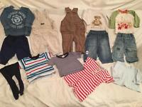 Baby boy 6-9 months clothes bundle 13 items