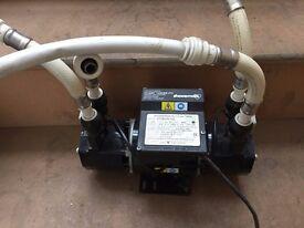 Stuart Turner Showermate 1.4 Bar Twin 46202 Shower Water Pump