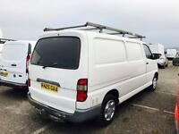 **LWB+2OWNR** TOYOTA HIACE 2.4D POWERVAN + FULLY SERVICED- T BELT CHANGED @ 105K + IMMACULATE COND!