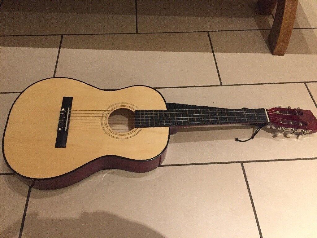 John Lewis 3/4 Size Acoustic Guitar plus Extras