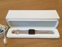 Apple Watch Series 1 38mm Rose Gold Aluminium Case Lavender Sport Band