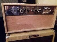 Cheap & Cheerful valve Guitar Amp Rig. 'Tube 30' 30 watt head + 1x 12 Tweed cab with Fender Speaker