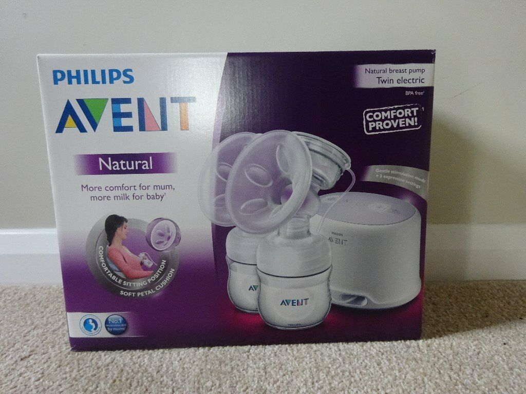 Avent Electric Double Breast Pump.