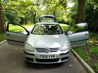 VOLKSWAGEN GOLF 1.4 CLEAN IN AND OUT Full servis history ONE YEAR MOT