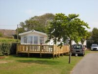 Willerby Brockenhurst mobile home with sea view in Brittany, France.