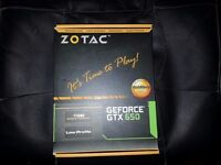 ZOTAC NVIDIA GeForce GTX 650 1GB GDDR5 LOW PROFILE (BOXED)