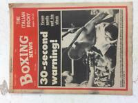 80s boxing news magazine collection of Tyson x 1