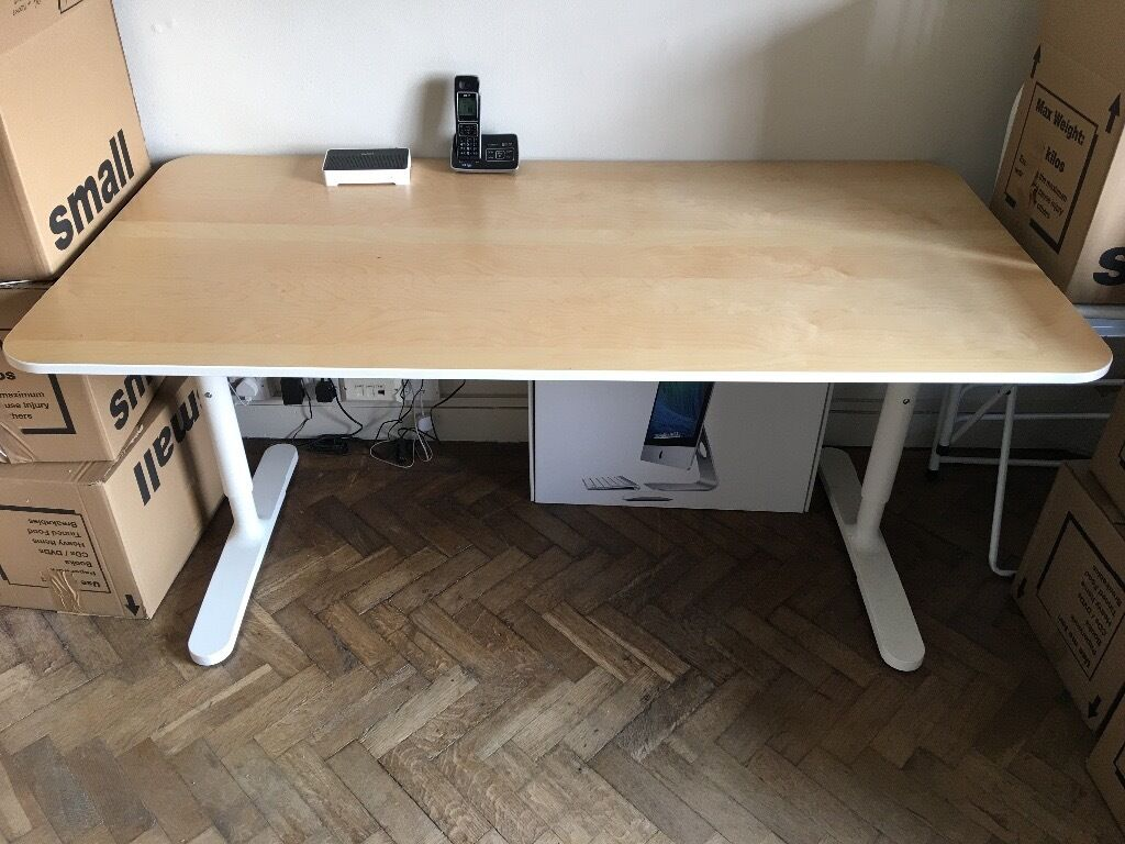 ikea bekant office desk in new condition in chelsea london gumtree. Black Bedroom Furniture Sets. Home Design Ideas