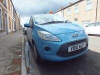 Ford KA Style+ 1.2 Petrol, 2010, 12 Months MOT, ***VERY LOW MILEAGE***