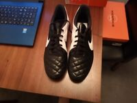 Nike Tiempo Rio II Firm Ground Football Boots Size 9