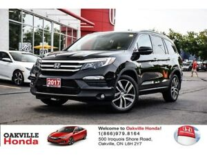2017 Honda Pilot V6 Touring 9AT AWD 1-Owner|Clean Carproof|Navig