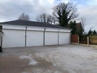 GARAGES TO LET *LYTTLETON RD* NEWLY BUILT ** ELECTRIC SHUTTERS ** SPACIOUS ** CALL NOW TO VIEW