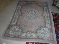 Lovely woollen rug, excellent condition