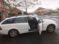 Mercedes C 220 cdi avangarde semi-auto 2002 year manual -Spare Parts Available