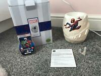 Spider-Man scentsy warmer with new wax bar