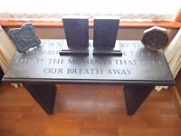 Engraved Caithness Slate Bench / Table
