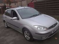 Ford Focus 1.6 Automatic in Silver. Very Easy to Drive.