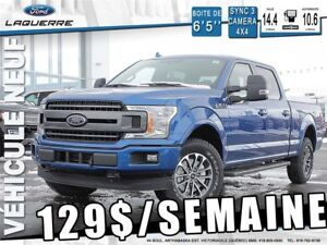 2018 Ford F-150 SPORT - 48 MOIS - 0$ COMPTANT