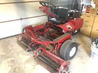 Toro Greensmaster sit on mower
