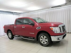 2017 Nissan Titan NEW INVENTORY! SV 4X4 V8 ENDURANCE 4DR 6PASS