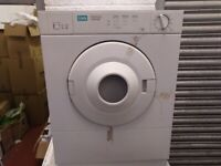 3KG CREDA VENTED TUMBLE DRYER IN WHITE