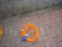 10 metre electric lead for when on site