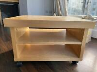 TV stand/Coffee table with castors