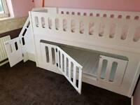 Custom made childrens bunk beds