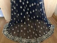 CHEAP ASIAN NAVY DRESS