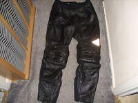 motor bike Gerike leather trousers