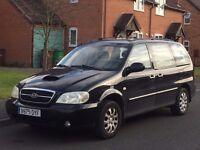 KIa Carnival/Sedona 7 Seater MPV (LHD) LEFT HAND DRIVE SPANISH REG