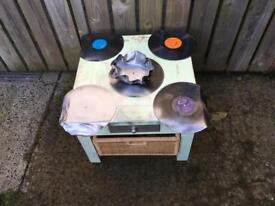 Upcycled Coffee table retro