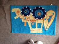 Boys Tractor bedroom rug from Next