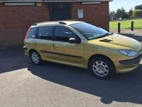 Peugeot 206 Diesel Car Very Low Mileage