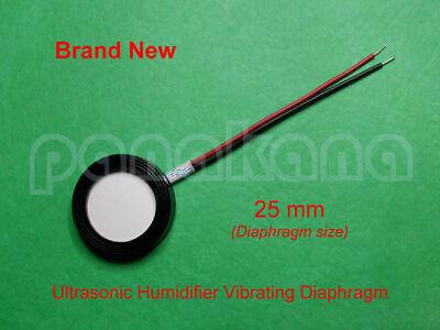 Ultrasonic Humidifier Vibrating Diaphragm Piezoelectric Transducer 25 Mm 1.7 Mhz