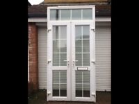 Upvc French doors, vgc could deliver